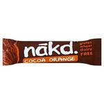 Nakd Cocoa Orange Fruit & Nut x18 (GFREE)