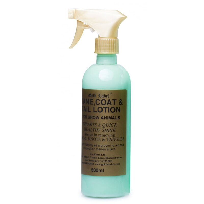 Gold Label Mane, Tail & Coat Spray 500ml