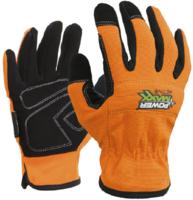 Power Maxx Active Anti Vibration Glove Orange/Black