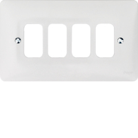 4G White Moulded Plate | LV0301.0618