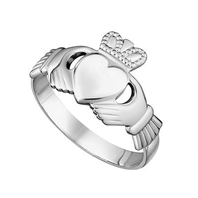 GENTS STERLING SILVER CLADDAGH RING