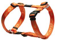 "Rogz Alpinist Orange Medium (Matterhorn) H-Harness 12½"" - 20½"" x"