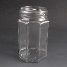 314ml Octagonal Jar
