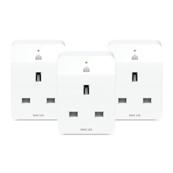 Tp-Link Kasa Wi-Fi Smart Plug, 3 pack KP105P3