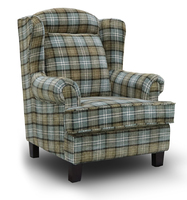 Manor Wing Chair - Green