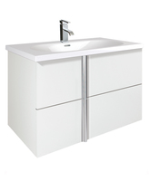 Sonas Avila White 80cm Wall Hung Vanity Unit