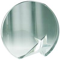 16cm Crystal Award with Star (Satin Box)