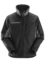 Snickers Black/Grey Craftsman Rip Stop Winter Jacket