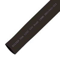 Heat Shrink | Black 18mm Diameter 100M Reel