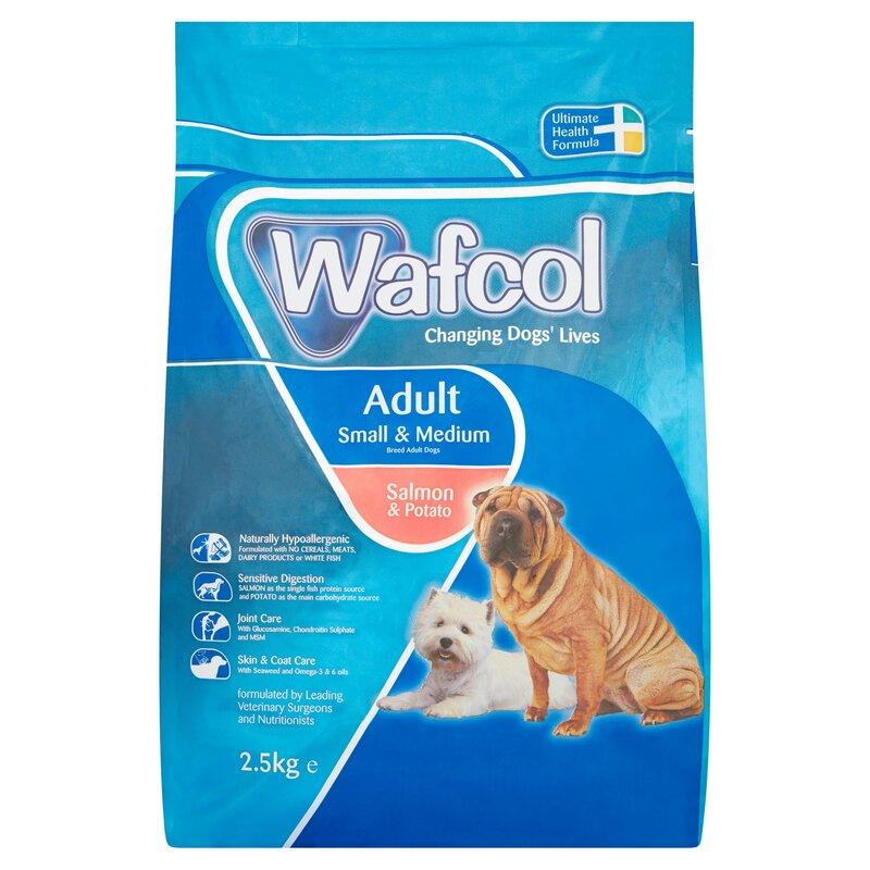 Wafcol Salmon & Potato Small Medium Dog Food 2.5kg