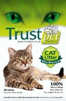 Trust Wood Pellet Cat Litter 30 Litre