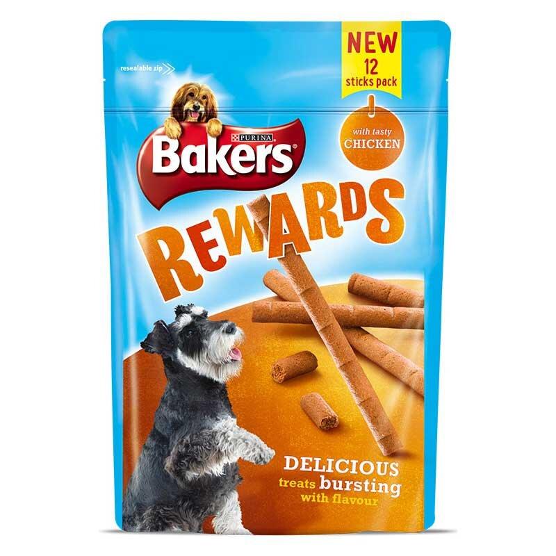 Bakers Chicken Rewards Dog Treats 8 x 100g
