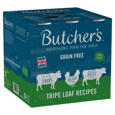 Butchers Cans Tripe Loaf Recipes 400g x 18