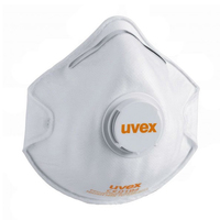 Uvex Silv-Air FFP2 Dust Mask, Cup Shape