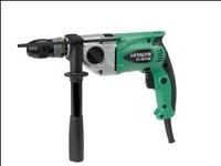 "Hitachi Drill 230v 1/2"" Keyless Chuck  DV20VB2-230"