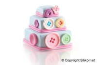 26.168.19.0069 Mini Wonder cakes Square silicone moulds 69x69 H6