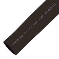 Heat Shrink | Black 45mm Diameter 25M Reel