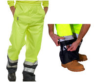 CLICK Belfry Hi-Visibility Waterproof Breathable Trousers