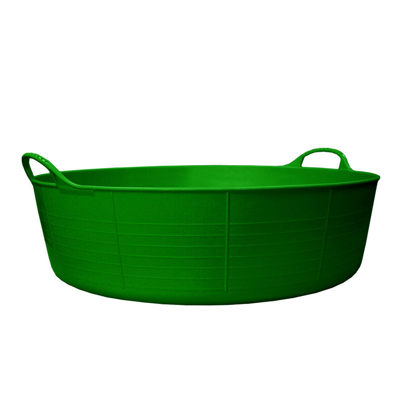 Red Gorilla Tub Green Small Shallow 15L