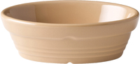 Pie Dish Cane Oval 140mm x 100mm Carton of 6