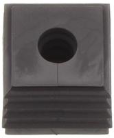 KDS-DE 3-4 BK - Seal, black small - 4mm Max Ø