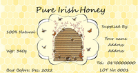Honey Hive Label (Pack of 200)