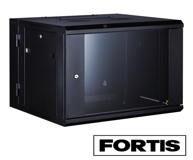 Fortis 4U 450mm Data Wall Cabinet