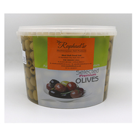 Quin Olives Green/Whole-Pitted- Raphael's -5kg