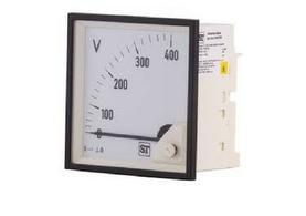 panel mounted voltmeter