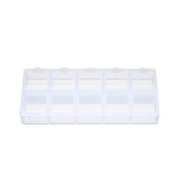 Arduino Plastic Storage Case of 10 compartments