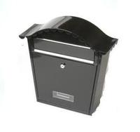 Tessi Cottage Style Post Box Black