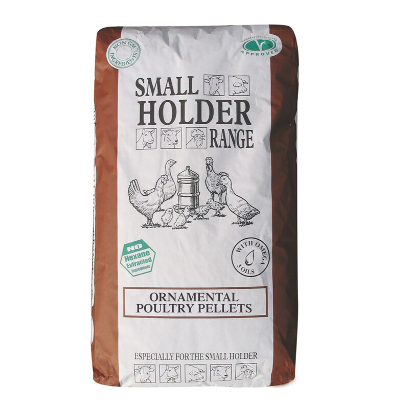Allen & Page Small Holder Range Ornamental Poultry Pellets 20kg