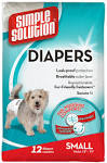Simple Solution Disposable Diapers Small 12-Pk x 1