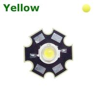 TKL-HP1Y | POWER LED 1 WATT YELLOW - WITH DISSIPATOR