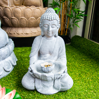LED Buddha Water Feature - 45CM