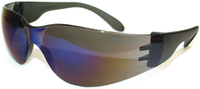 Blue Mirror Safety Spec - Anti Fog Pkt 12