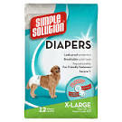 Simple Solution Disposable Diapers X-Large 12-Pk x 1