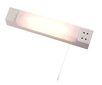 DUAL VOLTAGE 60W shaver light, IP20 , 440mm, White