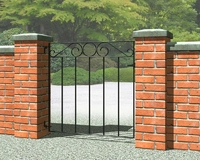850mm Metpost Ironbridge Small Gate