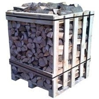 KILN LOGS BIRCH 1.173 M3 CRATE FREE DEL
