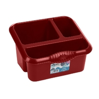 Casa Large Sink Tidy Chilli Red
