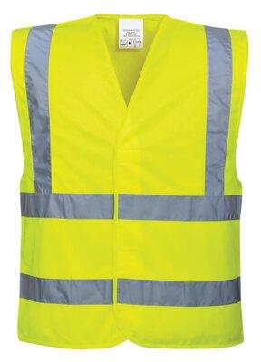 BOA Hi-Vis 2B2B Vest Yellow
