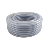 5mm Clear Reinforced PVC Tube 12.5mm Dia x 30m Roll - CR12 (WT1102)