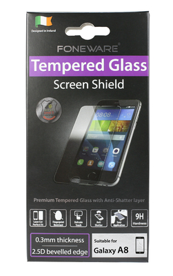 FONEWARE Tempered Glass Galaxy A8 0.27 mm