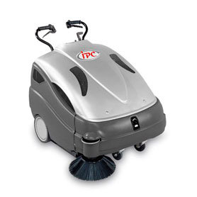 IPC Petrol Sweeper 710ST in silver which is ideal for petrol stations, factories, shopping centres & airports