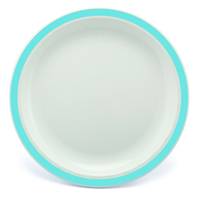 New Duo Summer Blue - 23cm Rimmed Plate