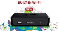 MAG 254 IPTV Set Top Box w/150mbps WIFI