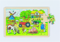 Mr Millers Farm Puzzle (P/Sng Min 1)