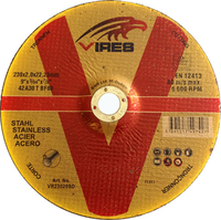Vires S/S Cutting Disc D/C 230mm x 2.0mm