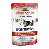 Almo Nature Adult Cat Pouch Alternative Label Chicken Breast 55g x 24